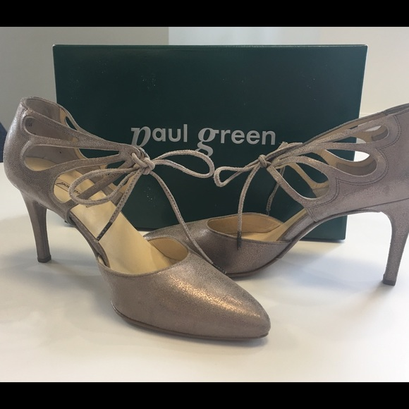 Paul Green Justeen Ghillie Lace Tie Pumps